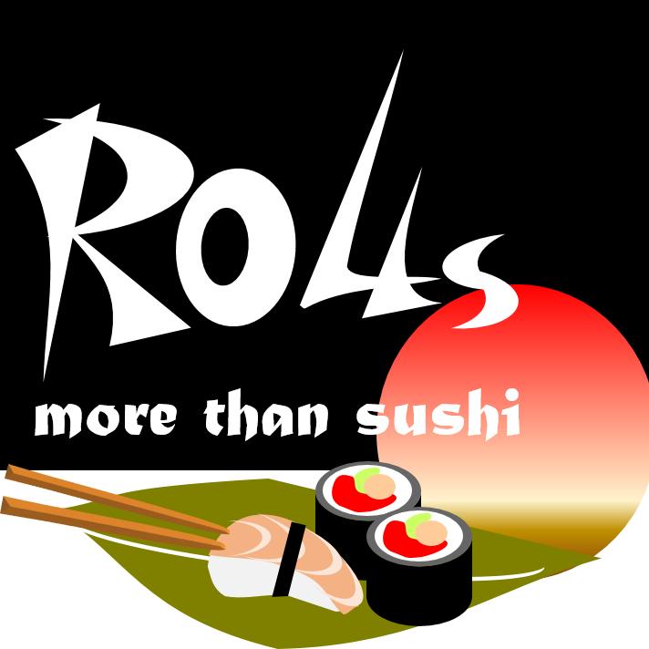 Rolls More than Sushi  logo