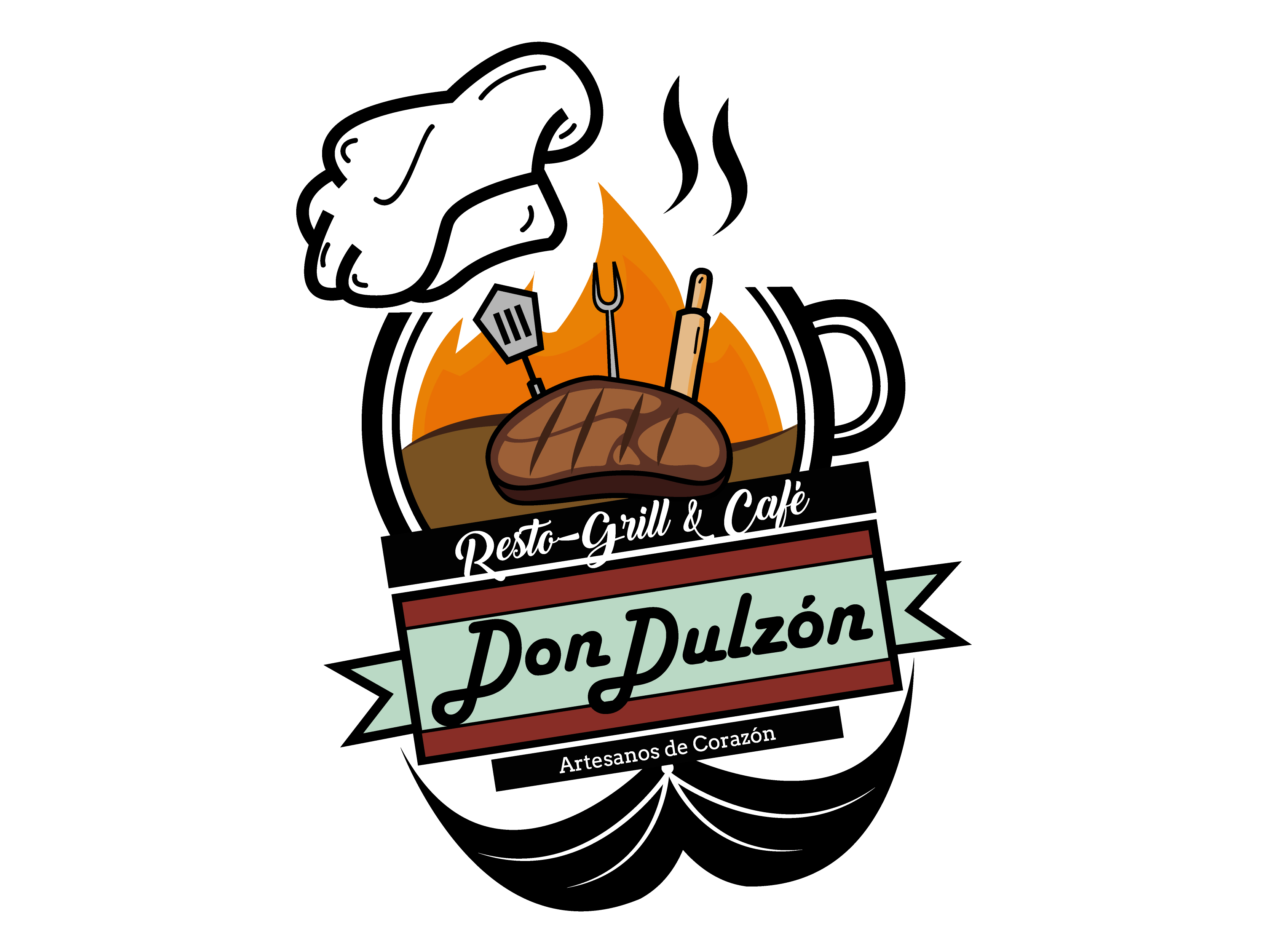 Don Dulzon Resto-Grill & Café logo