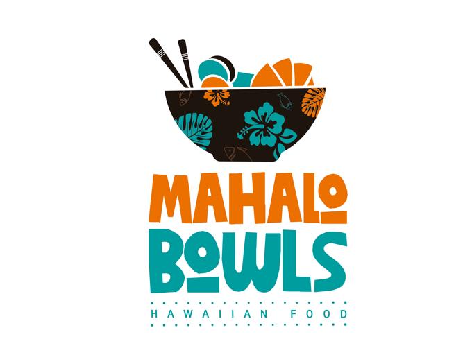 Mahalo Bowls logo