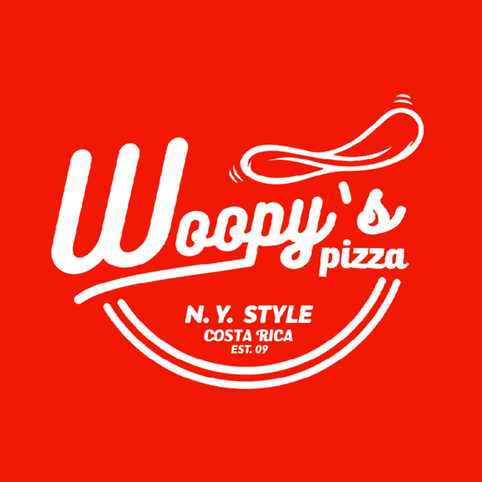 Woopy's Pizza logo