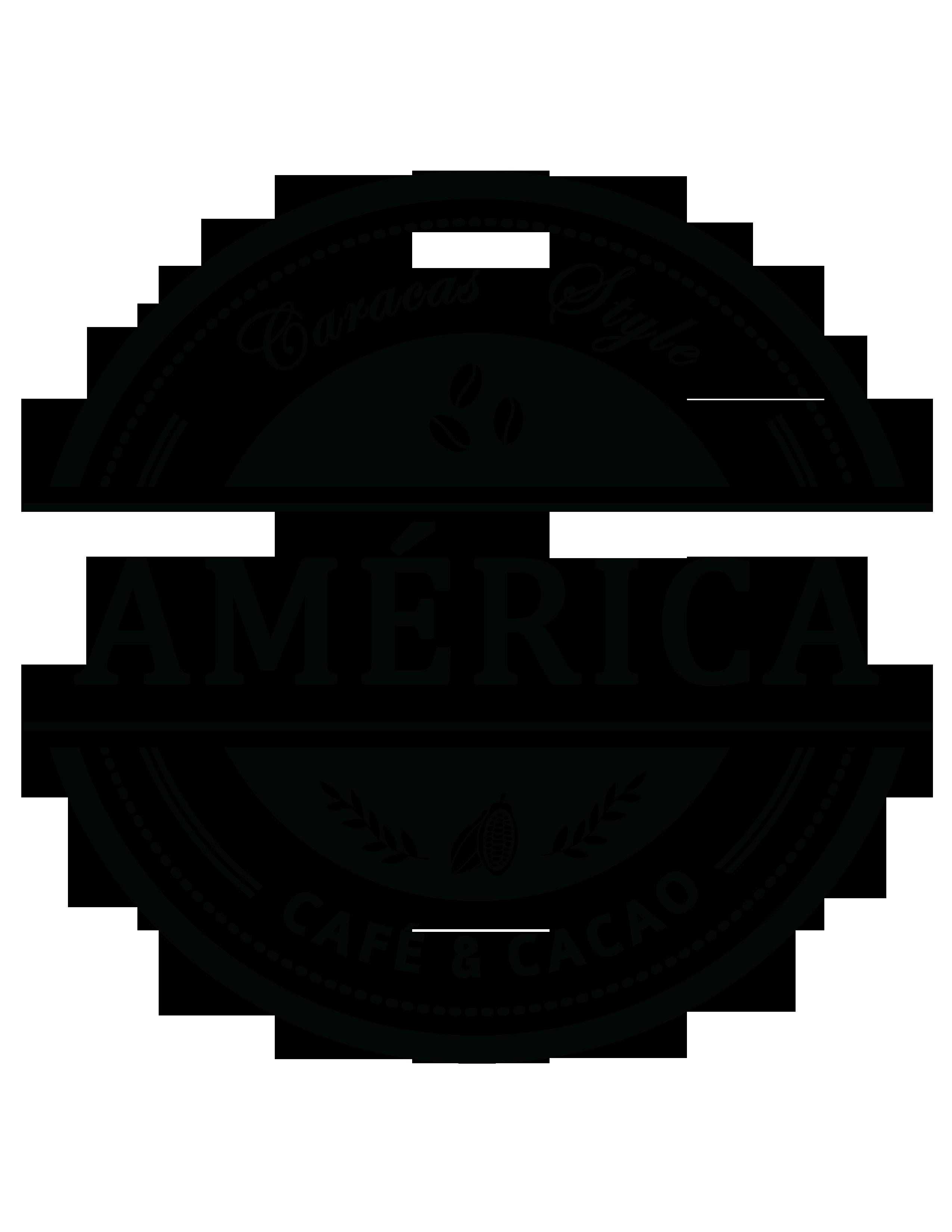América Café y Cacao logo