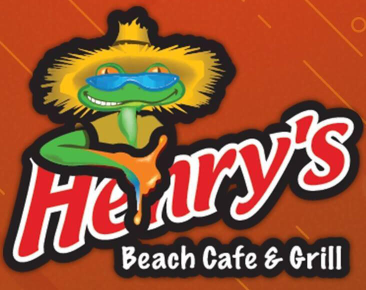 Henry's Beach Cafe & Grill logo