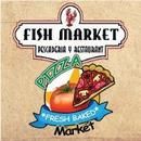 Pizza y Fish Market  logo